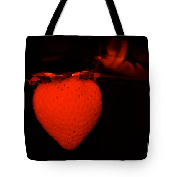 One Scary Berry Tote Bag by Susan Herber