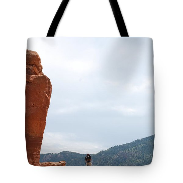 Only A Photographer Would Do.. Tote Bag by Randy J Heath