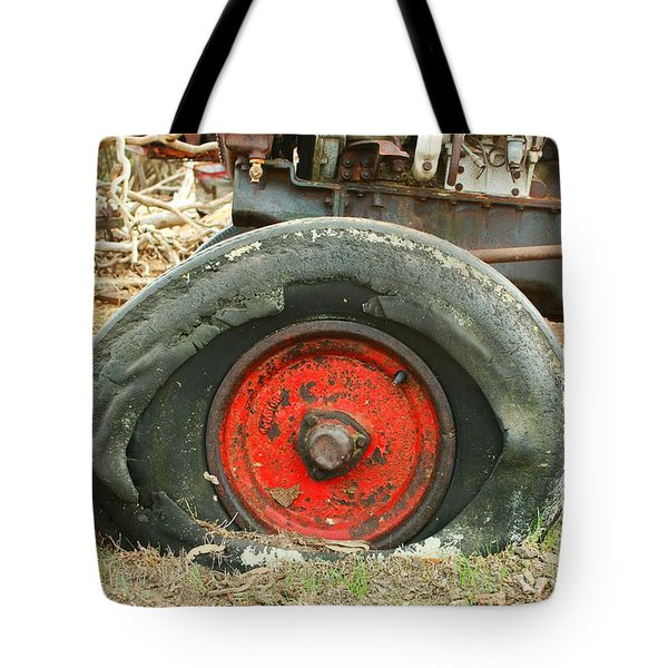 Only Flat On The Bottom Tote Bag