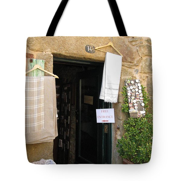 Open Door Tote Bag by Arlene Carmel