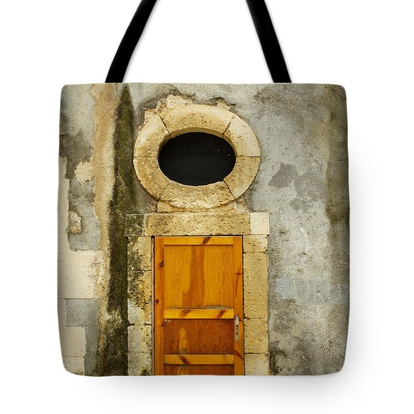 Open That Door Tote Bag
