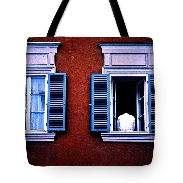 Open Window Tote Bag
