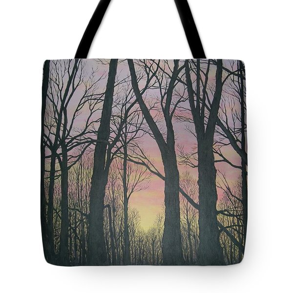 Opening Day - Northern Hardwoods Tote Bag by Kathleen McDermott
