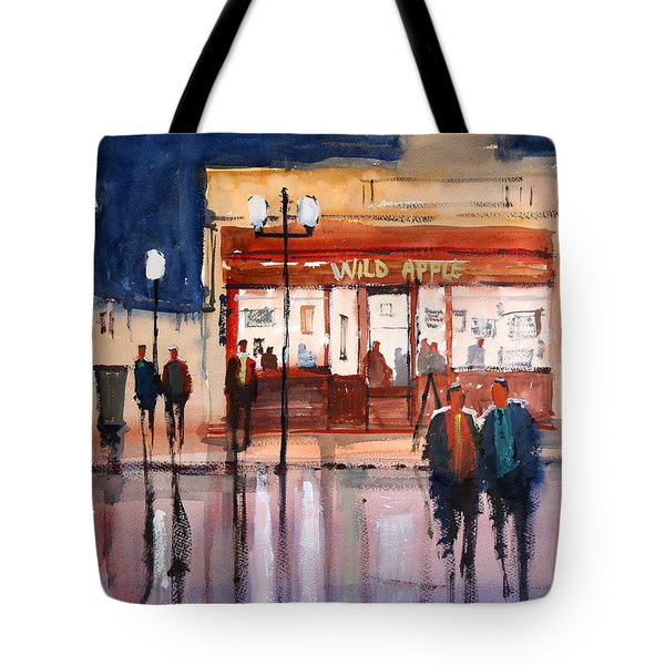 Opening Night Tote Bag by Ryan Radke