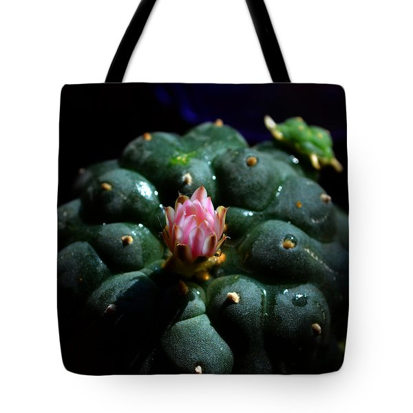 Opening Peyote Flower Tote Bag