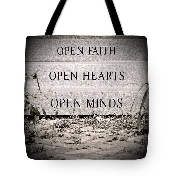 Openings Tote Bag by Jean Haynes