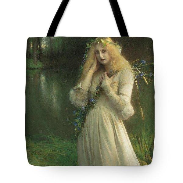 Ophelia Tote Bag by Pascal Adolphe Jean Dagnan Bouveret