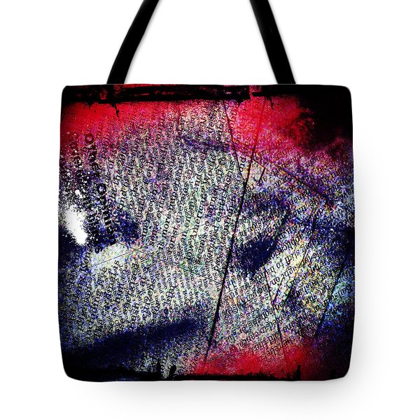 Opinion Of Stain Tote Bag by Jerry Cordeiro
