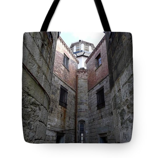 Tote Bag featuring the photograph Oppression II by Richard Reeve