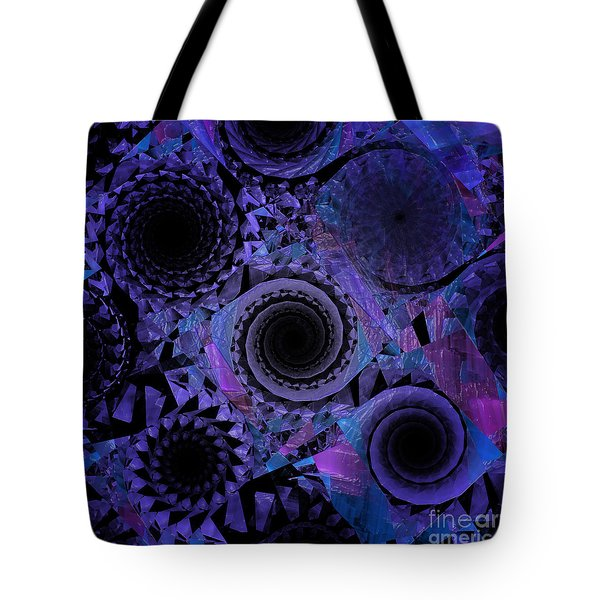 Optical Illusion Tote Bag by Andee Design