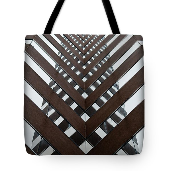 Optical Illusion Tote Bag by Keith Allen