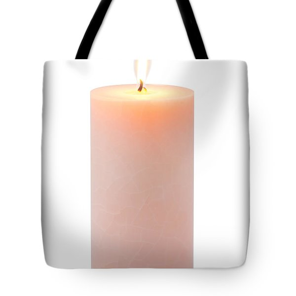 Orange Candle Tote Bag by Atiketta Sangasaeng