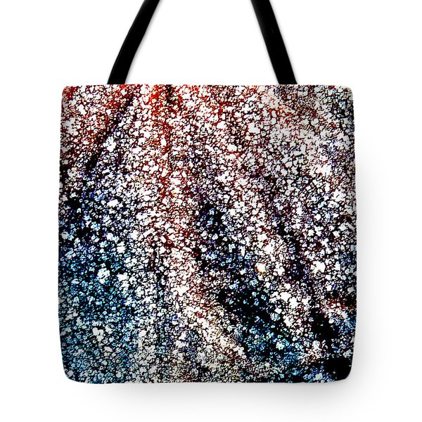 Tote Bag featuring the photograph Orange Is Warm And Blue Is Cold by Steve Taylor