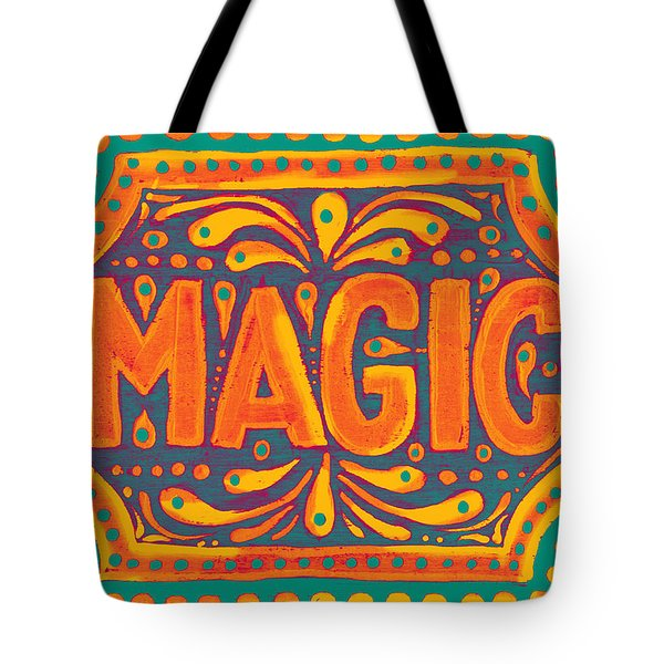 Orange Magic  Tote Bag