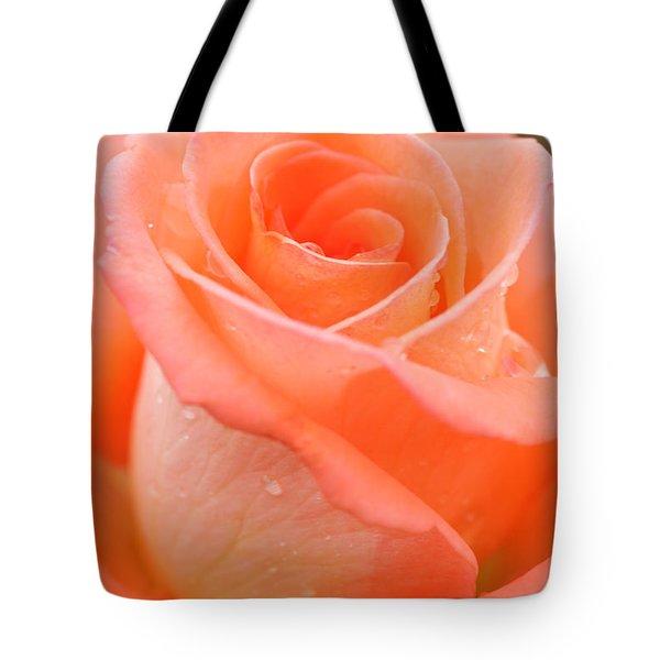 Orange Rose Tote Bag by Atiketta Sangasaeng