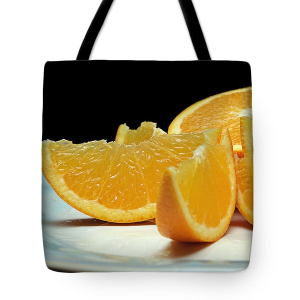 Orange Slices Tote Bag by Andee Design
