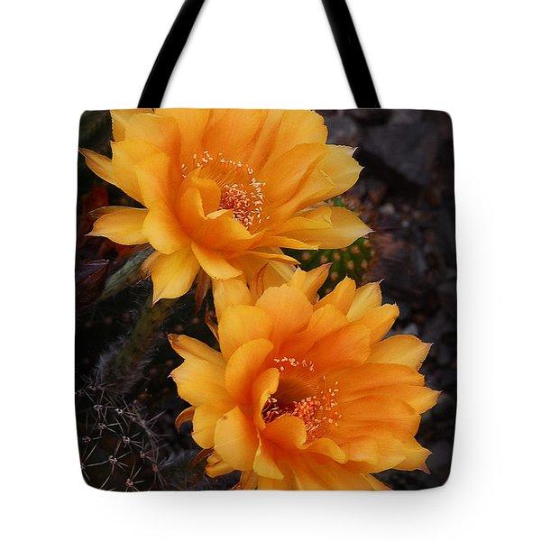 Orange You Beautiful  Tote Bag by Saija  Lehtonen
