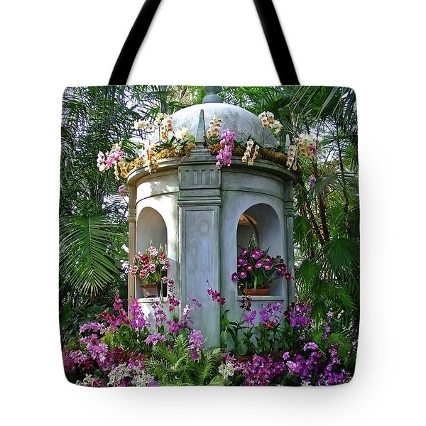 Orchid Cathedral Tote Bag