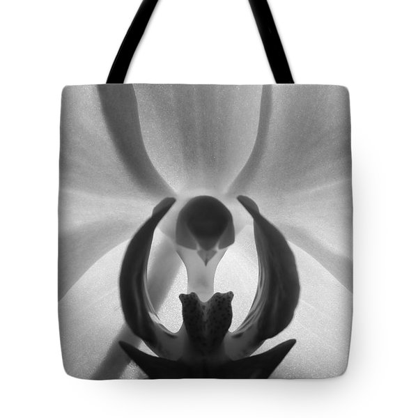 Orchid Heart Tote Bag by Kume Bryant