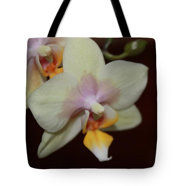 Tote Bag featuring the photograph Orchid I by Kelly Hazel