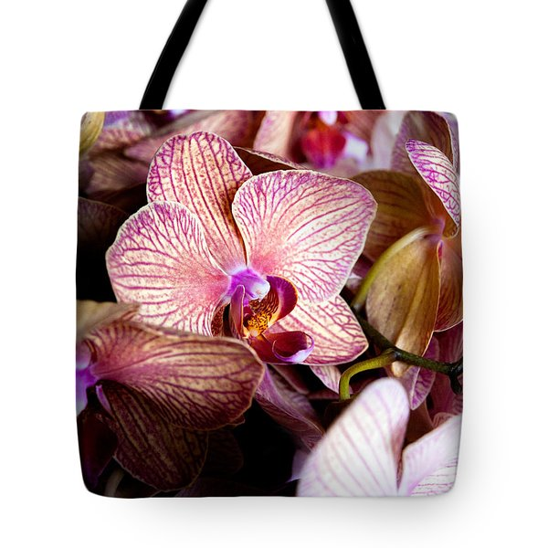 Orchid IIi Tote Bag by Christopher Holmes