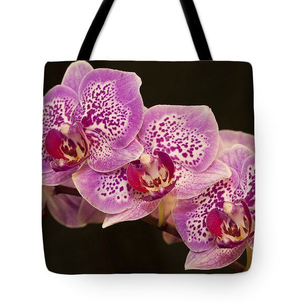 Orchids Tote Bag by Eunice Gibb