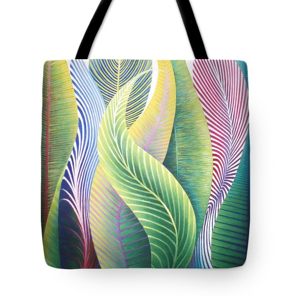 Organic Structures Tote Bag