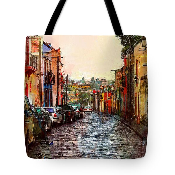Organos Watercolor Tote Bag by John Kolenberg