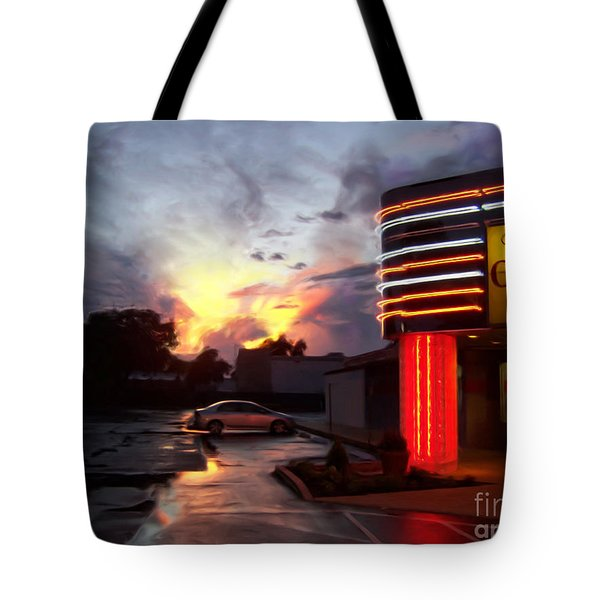 Oriental Buffet Tote Bag