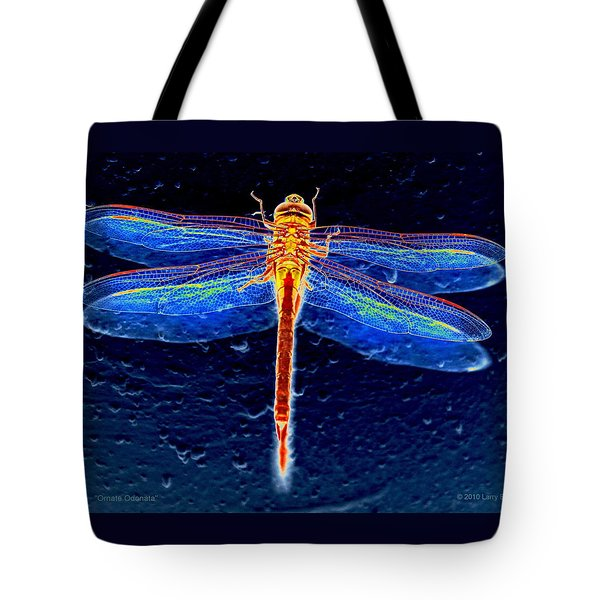 Ornate Odonata Tote Bag
