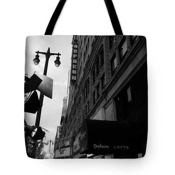 Tote Bag featuring the photograph Orpheum Theater by Nina Prommer