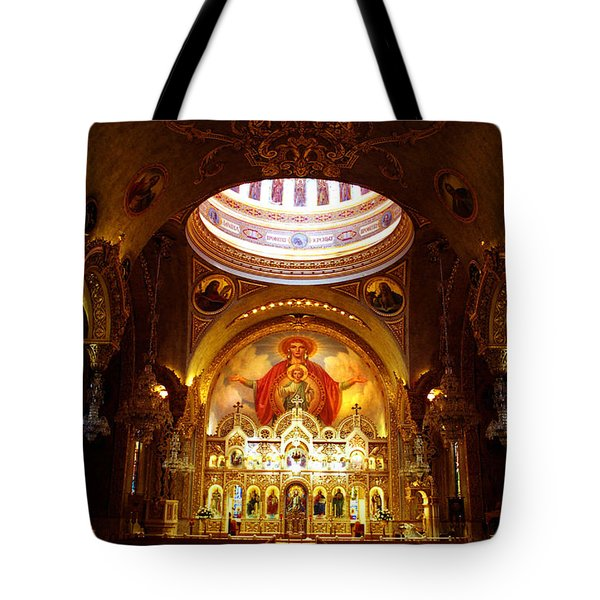Orthodox Church In Los Angeles, California Tote Bag