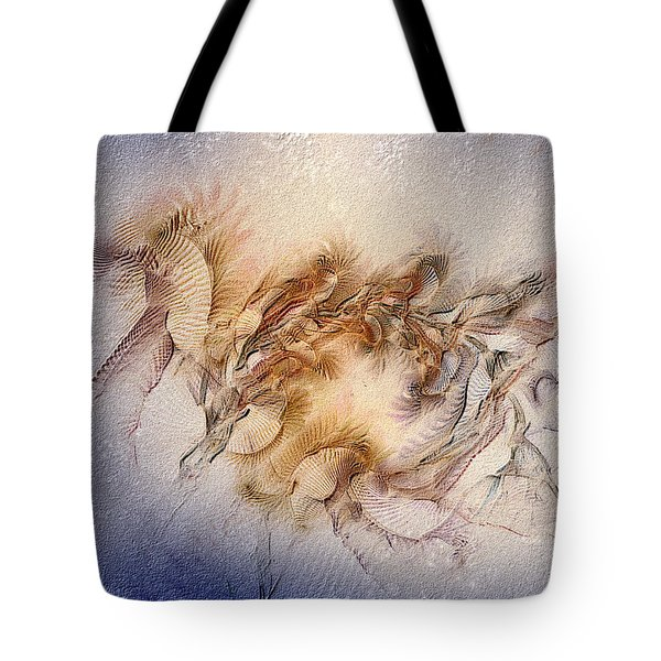 Orthography Of The Chant Tote Bag by Casey Kotas