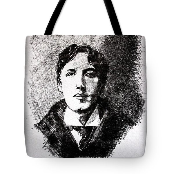 Oscar Wilde Tote Bag by John  Nolan