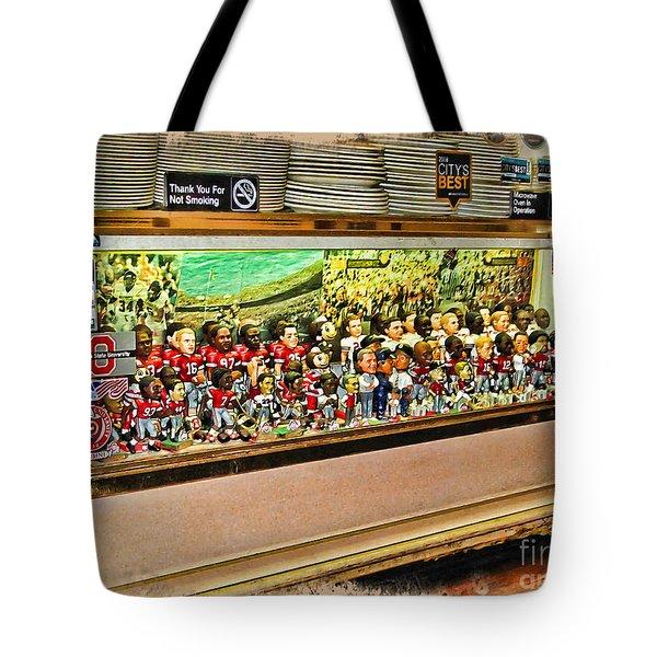 Osu Town Tote Bag by Joan  Minchak
