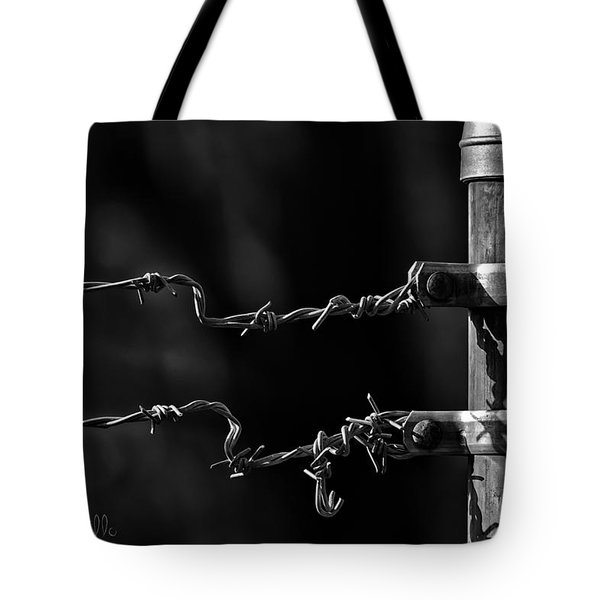 Other Side Of The Fence Tote Bag