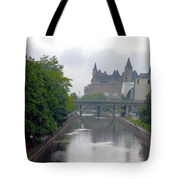 Ottawa Rideau Canal Tote Bag
