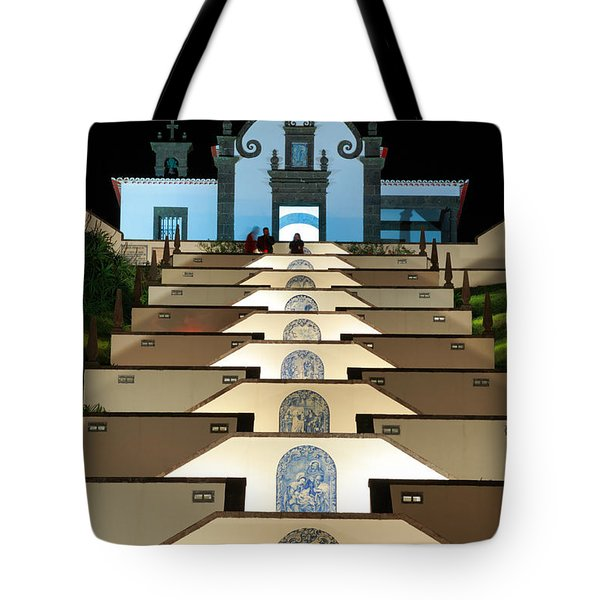 Our Lady Of Peace Chapel  Tote Bag by Gaspar Avila