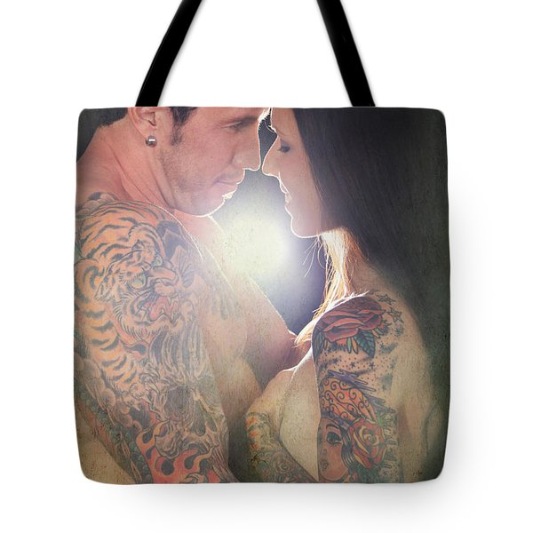 Our Love Shines Tote Bag by Laurie Search