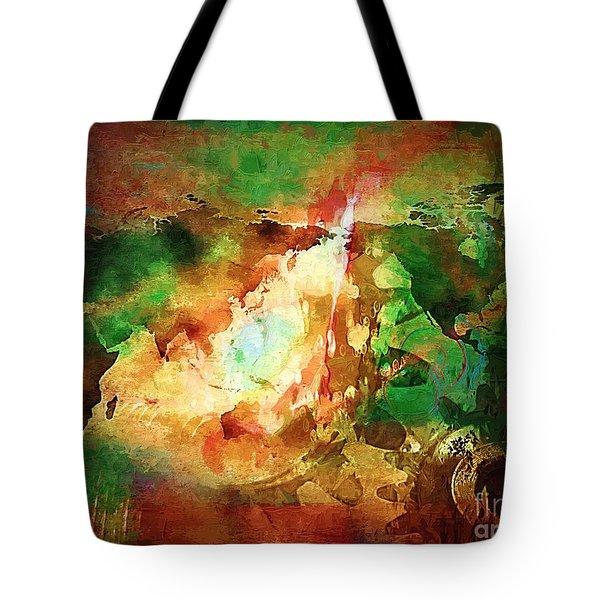 Our Time. Tote Bag by Marek Lutek
