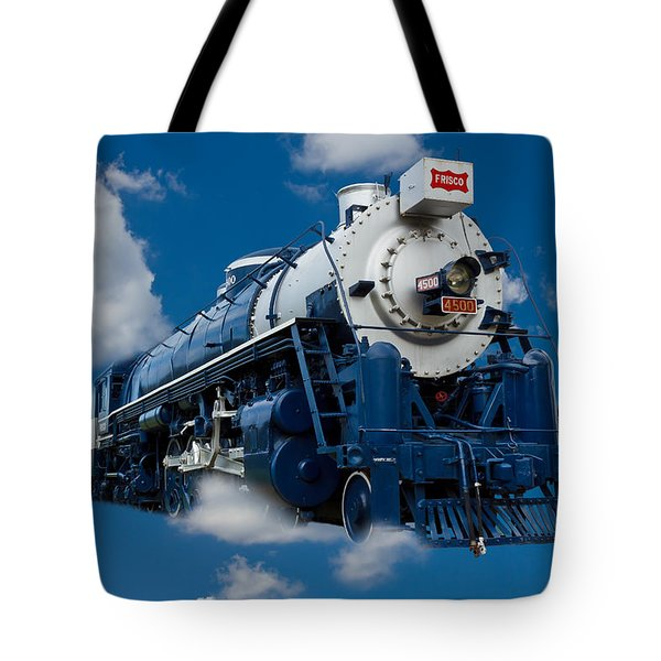Out Of The Blue Tote Bag by Doug Long