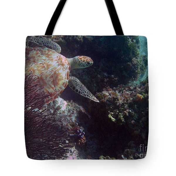 Out Of The Darkness Tote Bag by Li Newton