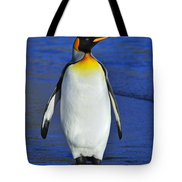 Out Of Water Tote Bag by Tony Beck