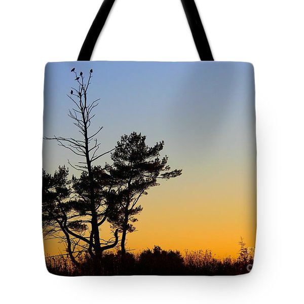 Out On A Limb Tote Bag by Davandra Cribbie