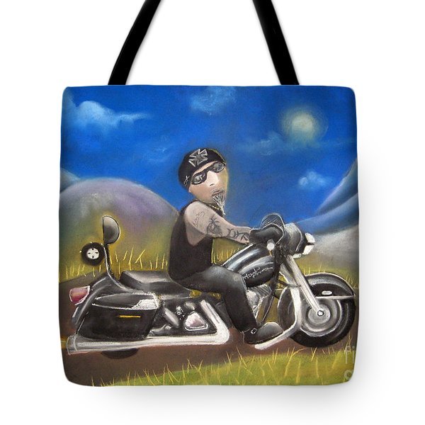 Out On The Road Tote Bag