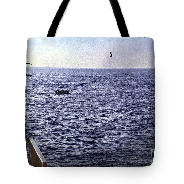 Out To Sea Tote Bag by Madeline Ellis