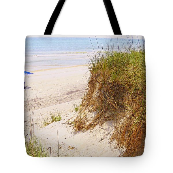Tote Bag featuring the photograph Outerbanks by Lydia Holly