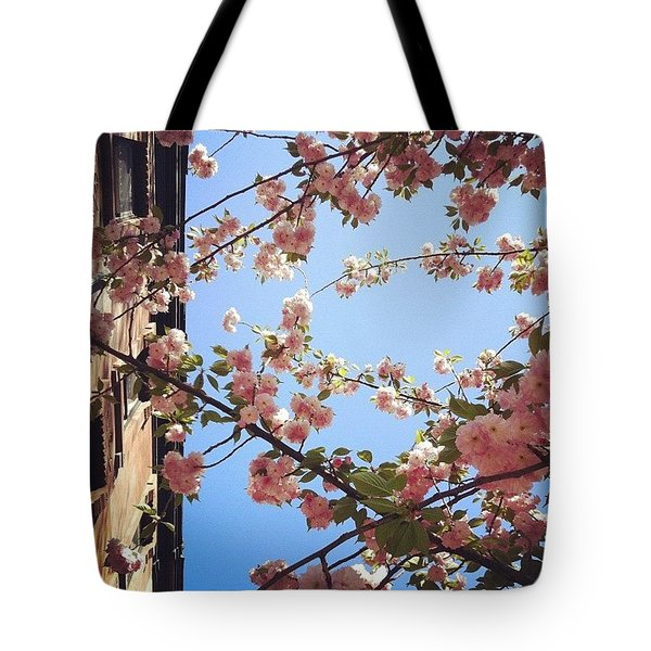 Outside Is The Best Side Tote Bag