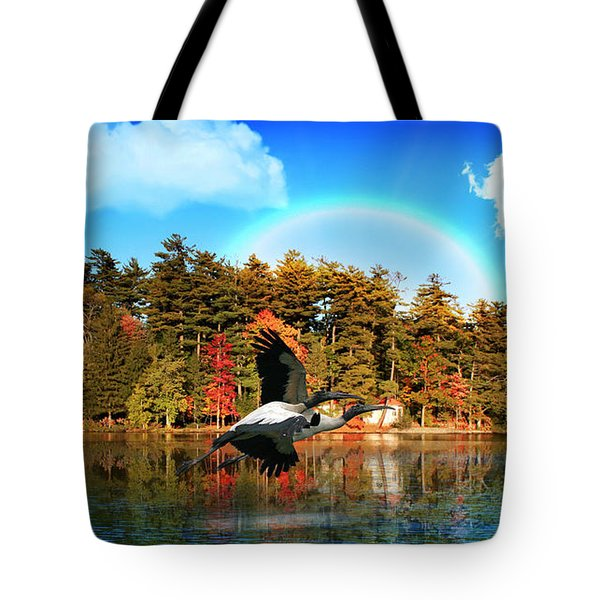 Over The Rainbow Tote Bag by Mark Ashkenazi