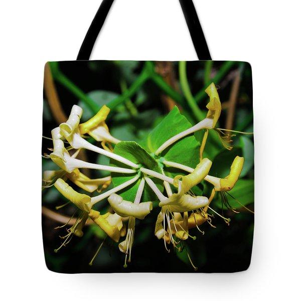 Overblown Perfoliate Tote Bag